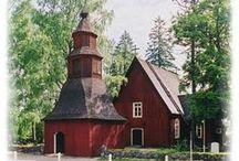 Church of Finland / Kirkkoja, suomalaista arkkitehtuuria...