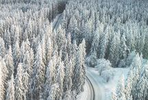 Finnish nature / winter / Suomalaista luontoa, tapahtumia ja ulkoilma harrastuksia... Talvella..