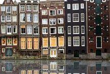 Gdańsk and Amsterdam houses