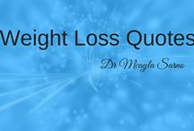 Quotes for Weight Loss / Need some inspiration for your weight loss journey? Find it here! Join Dr Mcayla at www.endemotional.com to find out how you can overcome emotional eating and regain control of your life!