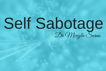 Stop Self Sabotage / Free yourself from Self Sabotage and live the life you always dreamed. Achieve your goals and overcome the only thing in your way: YOU! Join me at www.insessiononline.com and learn how.