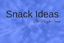 Healthy Snack Ideas / If you struggle with weight loss and binge eating, reaching for a snack can be difficult. One this board you will find some healthy go-to snack options! For more information about how to deal with dieting and binge eating, join me at www.endemotional.com .