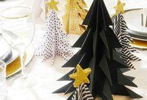 Fête: décoration de Noël / Idées, astuces, conseils de #décoration pour #Noël (sapin, boules, table, #DYI, design, intérieur, inspiration) | Christmas decoration