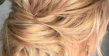 Beauté: cheveux et coiffures / Des idées de coiffure, des tutos, accessoires pour cheveux, coloration, coupe | Hair style, DIY, hairband and accessories, cuts, color