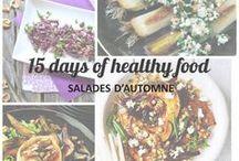 Cuisine: recettes de salades d'automne/hiver / Inspirez-vous de ces délicieuses recettes de salades d'automne et hiver saines, faciles et rapides à préparer. Cuisine saine et végétarienne ou vegan idéale pour un régime à base de légumes et fruits de saison. Plus d'inspiration sur le blog www.celiadreams.be (healthy food, autumn, recipe, veggie)