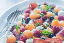 Cuisine: salades d'été / Recettes faciles et rapides de salades d'été #summer #salad #green #healthy