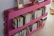 Décoration - Recup / Astuces et idées décoration intérieure moderne et originale à partir de matériaux de récupération : palettes, bocaux, DIY...
