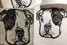 Stamping & Lino Cut Ideas