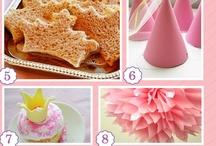 Prinsessenfeestje/ Princess party ideas