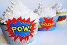 Superheldenfeestje / Super heroes party ideas
