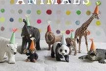 Dierenfeest / Animal party ideas