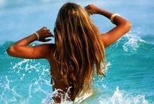 Summer Time June 21st Saturday / Hair gets lighter. Skin gets darker. Water gets warmer. Drinks get colder. Music gets louder. Nights get longer. Life gets better! / by Tanya Rose