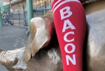 BACON just BACON!...everything BACON! / It's not just for breakfast anymore. / by Miss Dee