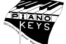 Piano KEYS / by Miss Dee