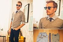 Ready to Wear - Men's Fashion / A collection of our favorite trends in ready to wear men's fashion.