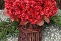 Celosia Topiaries, Wreaths, & Bundles