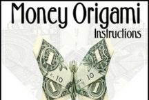 MONEY origami~~~~ / by Miss Dee