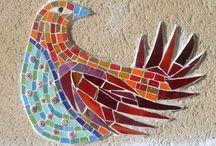 Amanda Anderson and Johanna Potter public commissions / Public mosaics by Amanda Anderson and Johanna Potter