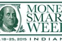 Money Smart Week / Money Smart Week® is a public awareness campaign designed to help consumers better manage their personal finances.  Programming is offered to all demographics and income levels and covers all facets of personal finance from establishing a budget to first time home buying to estate planning. KHCPL will host programs April 5 - 12, 2014. / by Kokomo Howard County Public Library