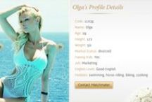Genuine Ukraine Girls for Marriage / Here are some of the profiles of girls from Ukraine for marriage. Have a look at the profiles.