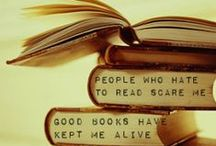 Books / Everything is better when you have a book with you <3 xx