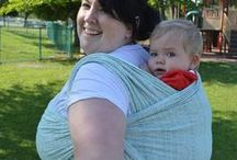 Woven Wraps Rule / Woven wraps rock the babywearing world.  Just why are baby wraps so popular with parents who use baby carriers?  Woven wraps are the only baby carrier fabric that are created for the express purpose of holding your child.  While you can use regular fabric for a DIY wrap, if you try a wrap that was woven for babywearing, you might not want to go back!