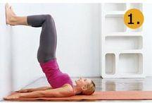 Fitness and Pilates Inspiration / La méthode BarreShape puise aussi ses inspirations dans des disciplines complémentaires comme le Pilates et le fitness.