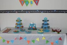 Toby's 1st Birthday Car Theme / My little mans 1st birthday party with the theme about cars because he loves anything that has wheels :)