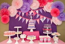 Décoration anniversaire fille / birthday ideas for girl