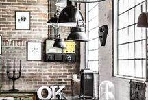indusztriális lakás stílus / industrial home style