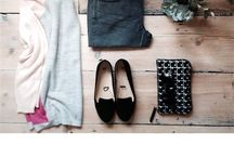 - Spring Summer Flat Lay Inspiration  - / Styled pieces of knitwear and tops for inspiration on how to wear an outfit