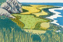 Art Printmaking / gorgeous artworks in the fascinating world of printmaking