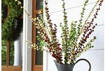 New Ilex Berries / These Ilex Berry Sprays are perfect for outdoor and indoor decorating. They are made of solid plastic and are total weather resistant. Decorate by using all one color, or mix with the other colors for a unique and stylish look.