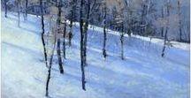 Winter / paintings of winter scenes