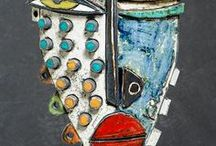 KImmy Cantrell: Abstract Faces / the art works of Kimmy Cantrell