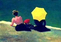 Les parapluies ou parasols