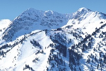 Huntsville Utah / Snowbasin Resort, skiing, snowboarding,  Pineview Reservoir