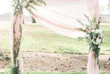 Ceremony Arch Inspiration / Maui wedding ceremony arch inspiration