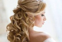 Bridal Hairstyles / Wedding hair ideas for bride and bridesmaids / by Donna Dunnachie