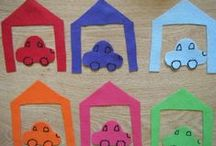 transportation theme for toddlers / Ideas for activities, songs, crafts, and art projects for a toddler or preschool class. Cars, trains, planes, and boats.
