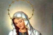 Estampas religiosas / Estampa religión Virgen María Jesús