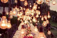 Wedding Lighting / Wedding Lighting Inspiration