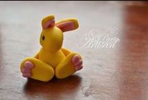 Pascua conejos-navidad / diferentes modelos para pascua de conejo y de navidades