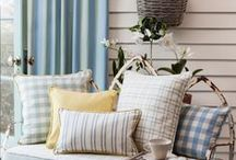 Serenity / Nothing is more timeless than a classic stripe or check. Elegant, smart and sophisticated. Barker & Barkers new 'Serenity' fabric collection of checks and stripes emphasies this timeless feel but is designed to create a subtle yet modern twist with the insertion of a small yellow 'ray of sunshine' stripe running throughout all the designs and giving a three dimensional look.