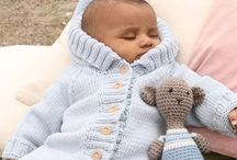 Pletení pro miminka / Knitting and crochet designs for babies