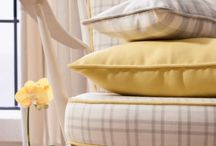 Barker and Barker Checked Fabric / a collection of our various Checked fabrics from previous ranges, Suitable for a variety of uses around the home including curtains, cushions and upholstery.