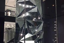 Origami mirror