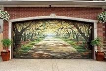 DOOR WALL and ROAD ART