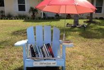 Quirky and Far Out Libraries / Little Libraries come in all shapes and sizes - check out these wild designs we never expected. www.littlefreelibrary.org