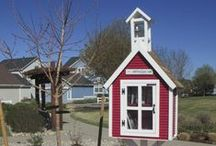 Red Schoolhouse Libraries / by Little Free Library